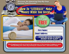 How To Literally Make Money While You Sleep!