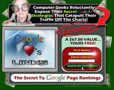 Secret to Google Page Ranking